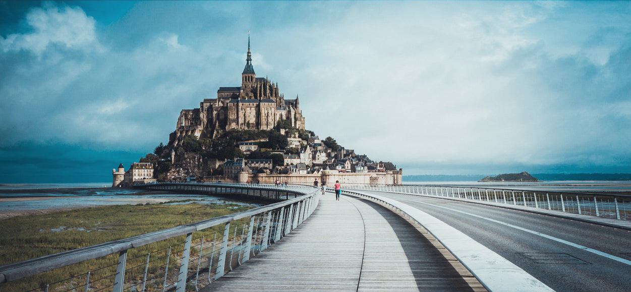 A picture of Mont St. Michel